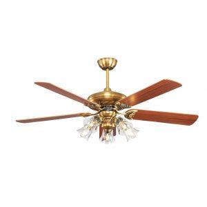 , Quạt trần Lotus Gold, Quạt trần đèn trang trí cao cấp Mr.Vũ