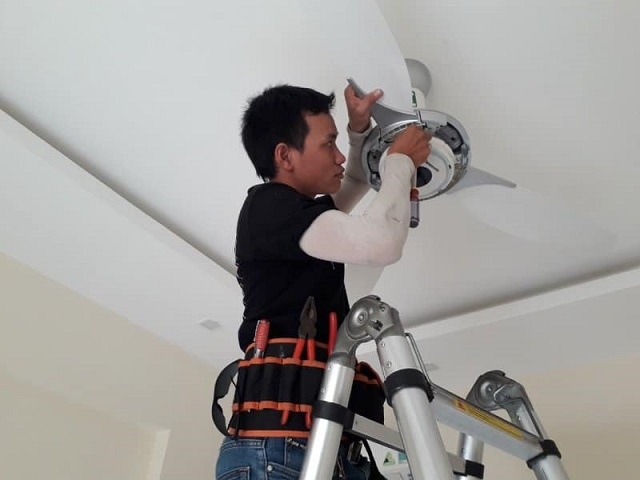 , Dịch vụ sửa chữa quạt trần uy tín chất lượng nhất hiện nay, Quạt trần đèn trang trí cao cấp Mr.Vũ