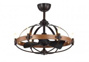 Monalisa mang thiết kế độc đáo với chùm đèn bao phủ phần cánh quạt