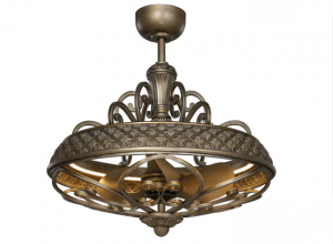 , Quạt trần trang trí cao cấp cho biệt thự, Quạt trần đèn trang trí cao cấp Mr.Vũ