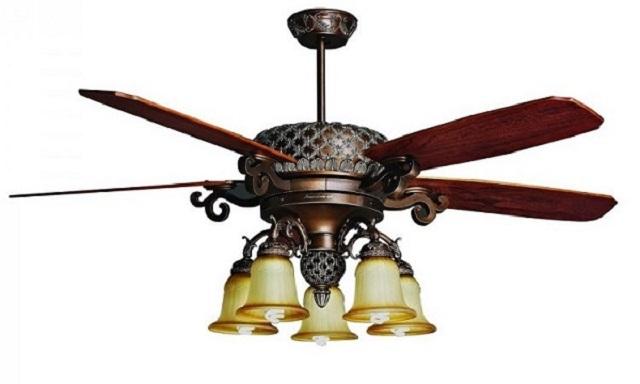, Sản phẩm quạt trần đèn chùm có bền và mát không?, Quạt trần đèn trang trí cao cấp Mr.Vũ